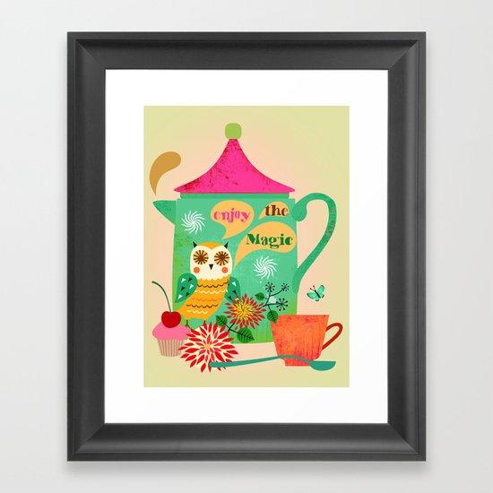 Enjoy the Magic Framed Art Print