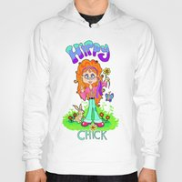 hippy Hoodies featuring Hippy Chick by Melissa Morrison