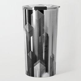 obelisk posture 2 (monochrome series) Travel Mug