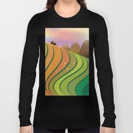 Terrace Fields Long Sleeve T-shirt