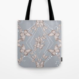 Insecta Pattern - Victorian Tote Bag