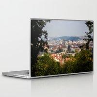 prague Laptop & iPad Skins featuring Prague by Veronika