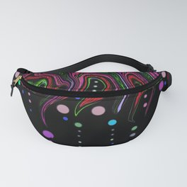 The tree of colors Fanny Pack