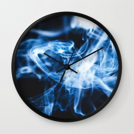 Smokey Wall Clock