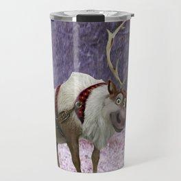 Reindeer Are Better Than People Travel Mug