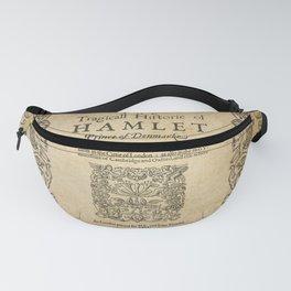 Shakespeare, Hamlet 1603 Fanny Pack