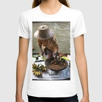 thailand T-shirts featuring woman in thailand by habish