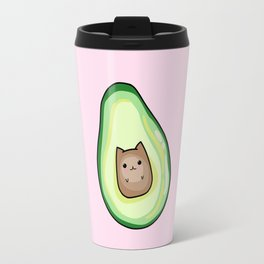 Avocado Cat AvoCATo Travel Mug