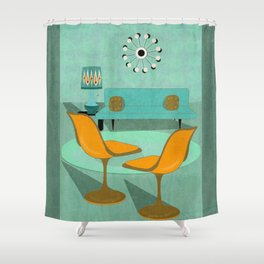 Room For Conversation Shower Curtain