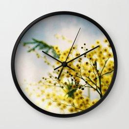 Mimosa Wall Clock