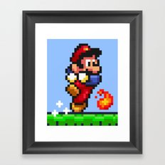 Fireball Trouble Framed Art Print