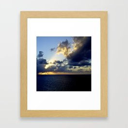 Out To Sea #2 Framed Art Print