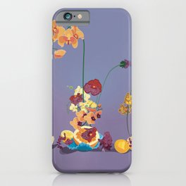 Still Life with Orchids iPhone Case
