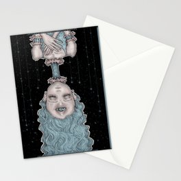 Hang The DJ At The Freak Show Stationery Cards