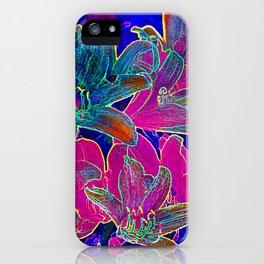 Color lilies  iPhone Case