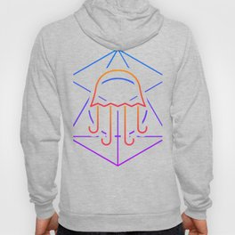 Psychedelic Sacred Geometry Jellyfish Hoody