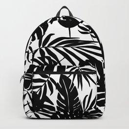 Urban Jungle White Backpack