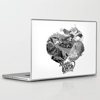 middle earth Laptop & iPad Skins featuring Middle Earth New Zealand by Guiso
