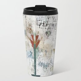 Birds Swooping Down and Arrows Travel Mug