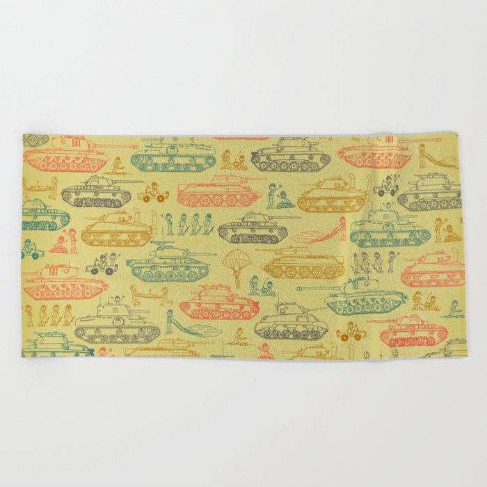 Tanks For Everything Beach Towel