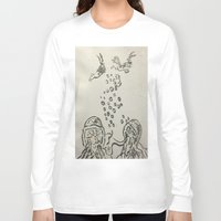 under the sea Long Sleeve T-shirts featuring Under The Sea Sketch by ANoelleJay