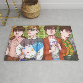 Don't Try To Look Hip, Be Hip! Rug