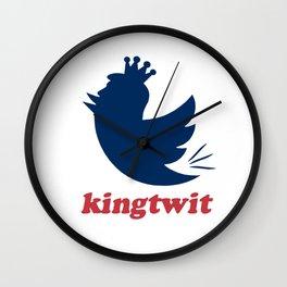 kingtwit. trump 2016 Wall Clock