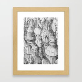 Dome City Framed Art Print
