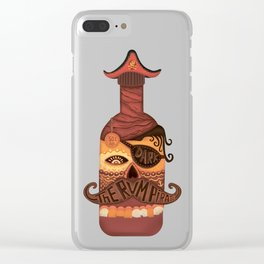 The Rum Pirate Clear iPhone Case
