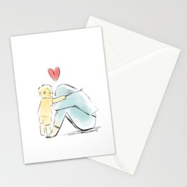 It's going be okay (little boy) Stationery Cards