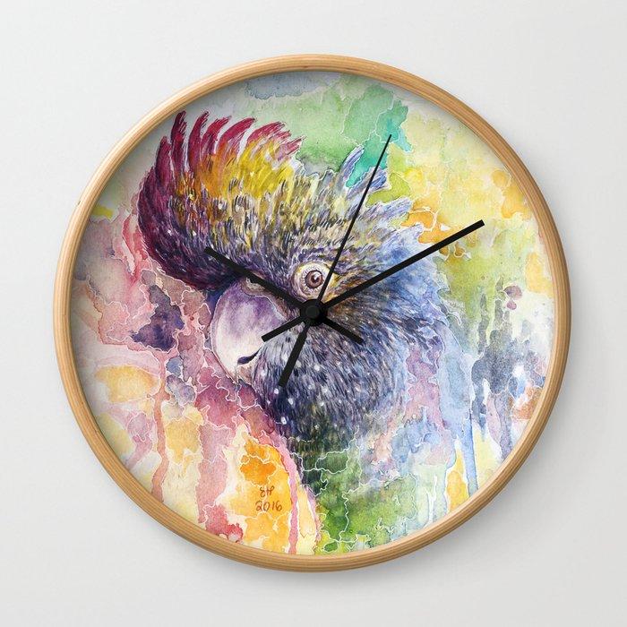 Colors of Life Wall Clock