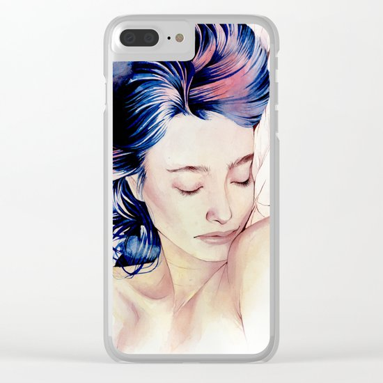 Between the sheets Clear iPhone Case