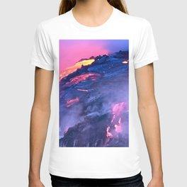 Kilauea Volcano Lava Flow. 4 T-shirt