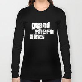 GTA - Nerdy Shirts Videogame Long Sleeve T-shirt