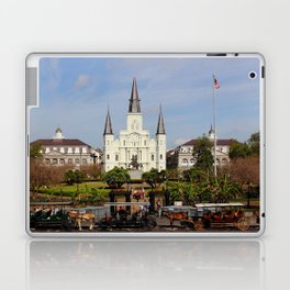 Jackson Square - New Orleans Laptop & iPad Skin