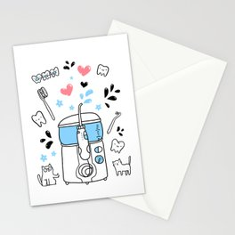 Dental hygiene Stationery Cards