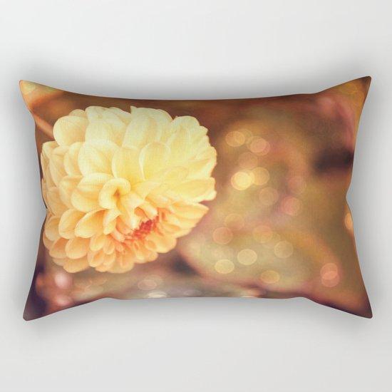 Autumn dahlia Rectangular Pillow