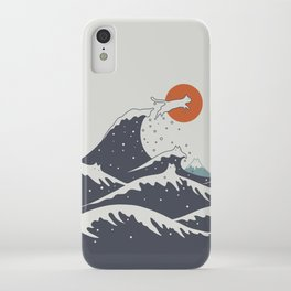 Cat Landscape 55C iPhone Case