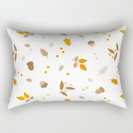 Botanical fall Rectangular Pillow
