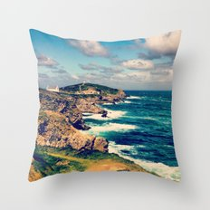 Lost Coast  Throw Pillow