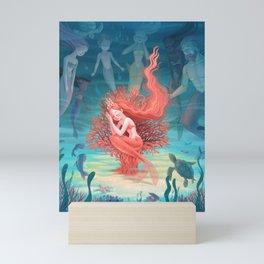 Living Coral Mini Art Print