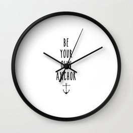 Teen Wolf / Anchor Wall Clock