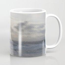 Silver Scene ~ Ocean Ripple Effect Coffee Mug
