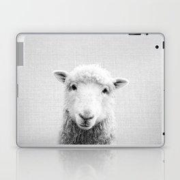 Sheep - Black & White Laptop & iPad Skin
