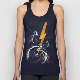 Electric Guitar Storm Unisex Tank Top