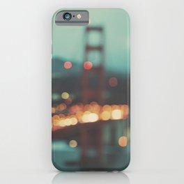San Francisco Golden Gate Bridge photo, Sweet Light iPhone Case