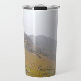 Black Smoke Rising Travel Mug