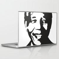 mandela Laptop & iPad Skins featuring Mandela by b & c