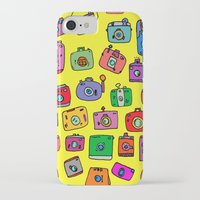 cameras iPhone & iPod Cases featuring Cameras by andy_panda_