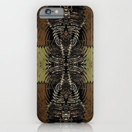 Bronze & Gold Hour Glass iPhone Case